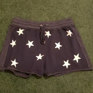 Splendid star shorts navy blue medium new with tag